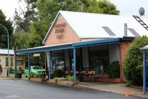 The Nannup Bridge Cafe is a hidden gem inspiring Marge's Place in